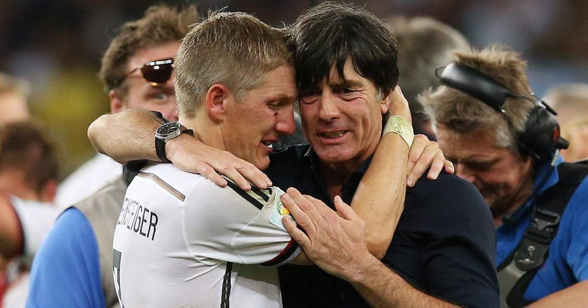 Joachim Low Bastian Schweinsteiger Germany Liverpool