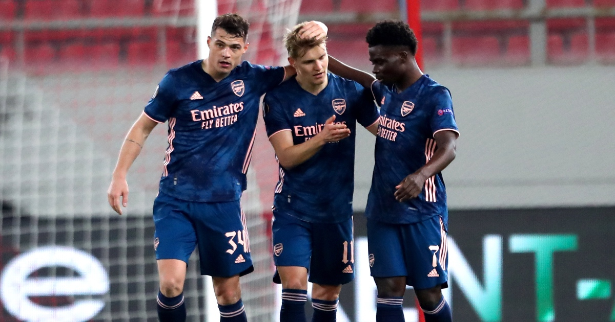 Olympiacos 1-3 Arsenal: Odegaard, Gabriel on target for Gunners thumbnail