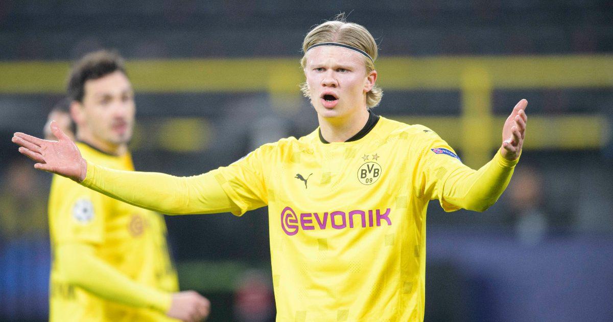 Erling Haaland Borussia Dortmund Man Utd