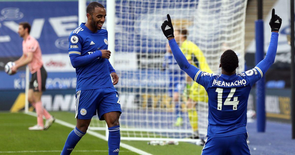 Kelechi Iheanacho Leicester Sheffield United