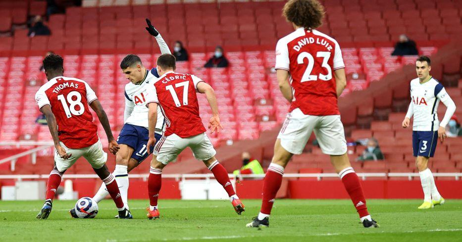 Erik Lamela rabona Arsenal Tottenham