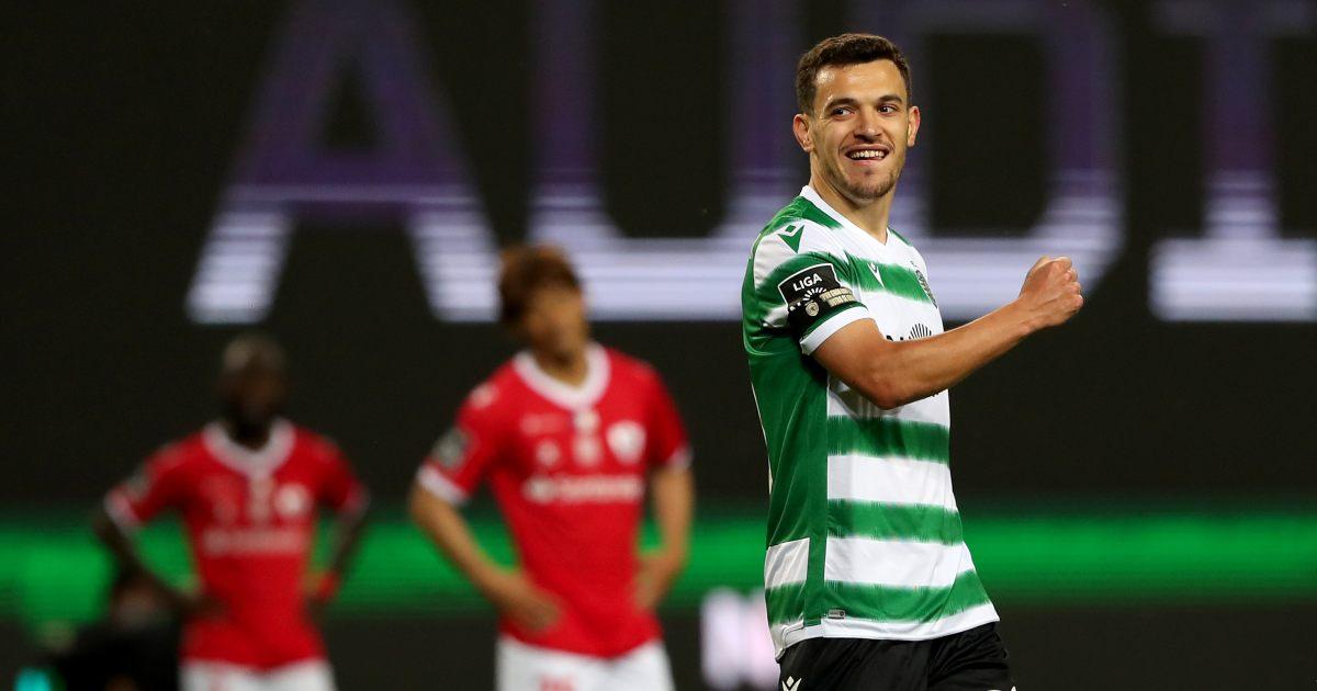 Pedro Goncalves Sporting Lisbon Man Utd