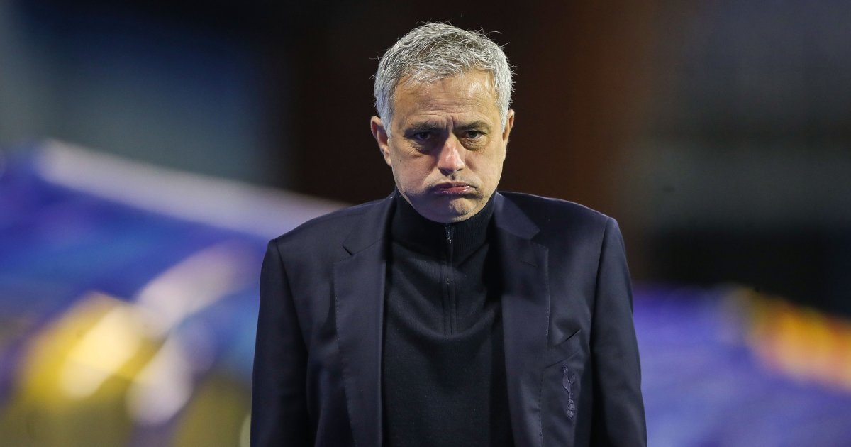 Jose Mourinho watches on as Spurs lose to Dinamo Zagreb