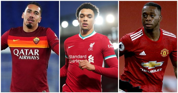Chris Smalling, Trent Alexander-Arnold, Aaron Wan-Bissaka: All ignored by England