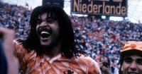 Ruud Gullit celebrates