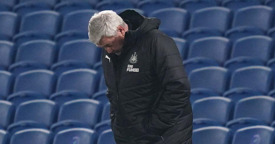 Steve Bruce seems depressed