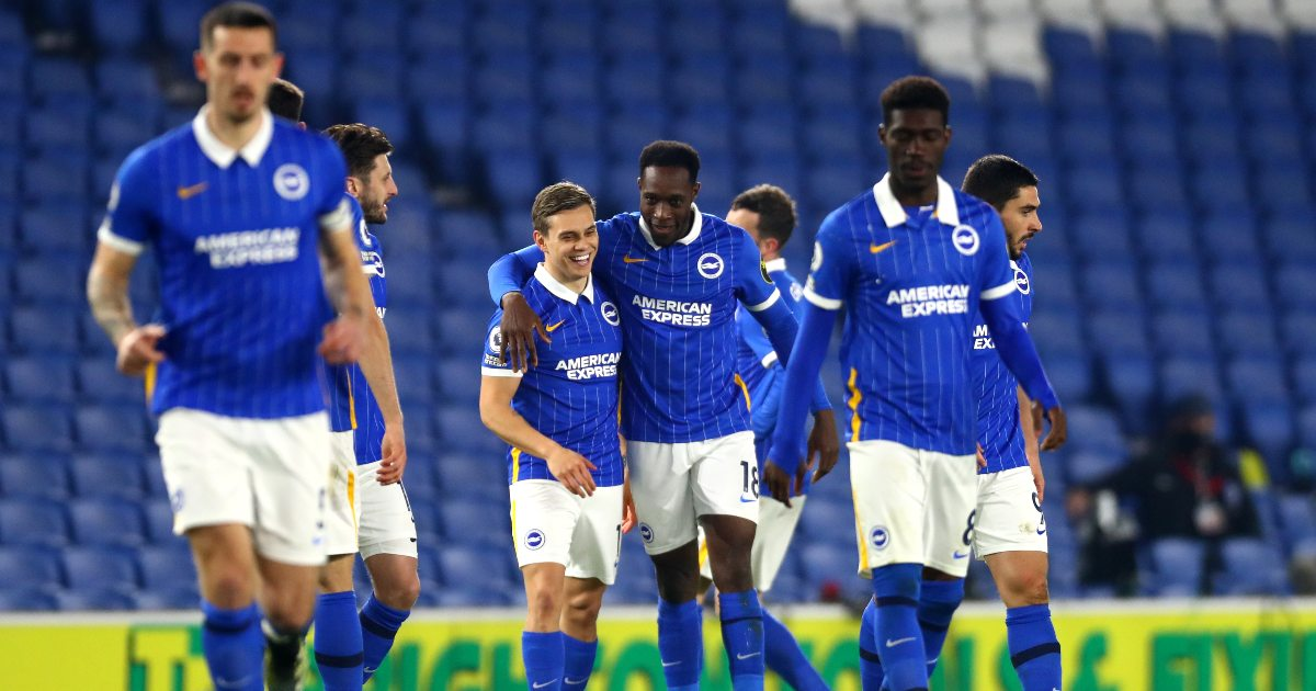 Welbeck urges Brighton to kick on after back to back wins thumbnail