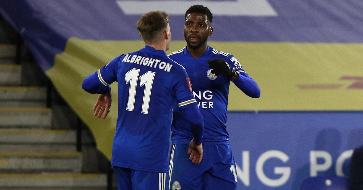 Leicester Man United F365
