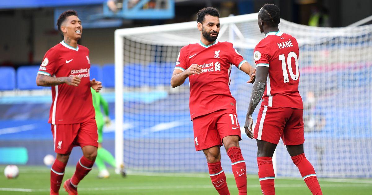 Roberto Firmino Sadio Mane Mo Salah Liverpool