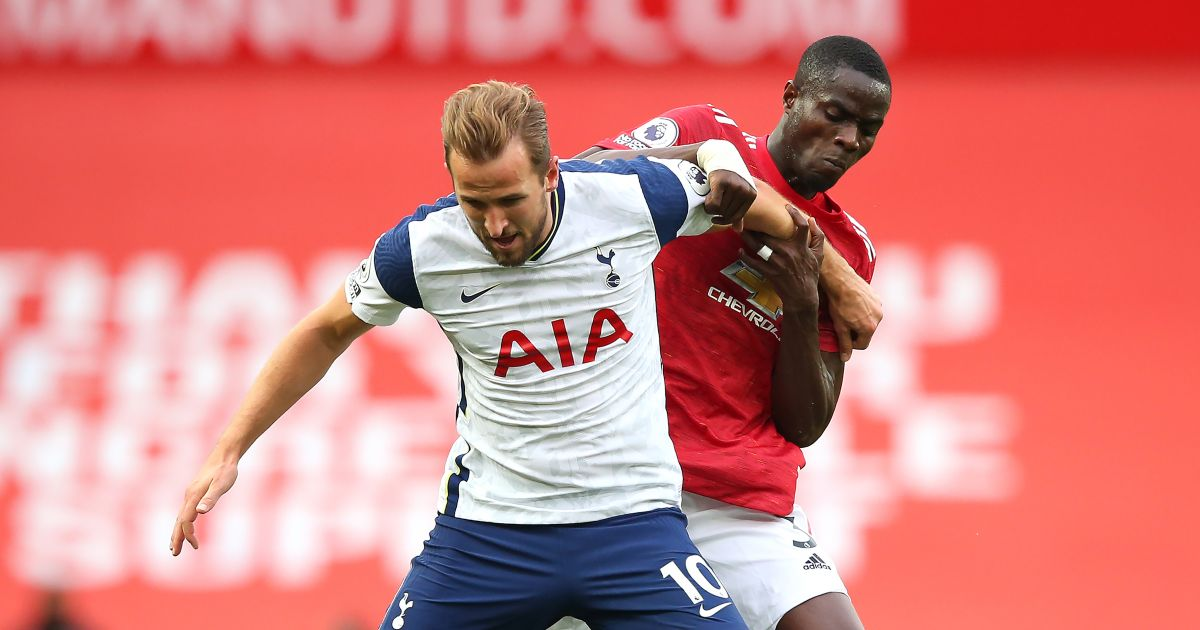 Harry Kane and Eric Bailly