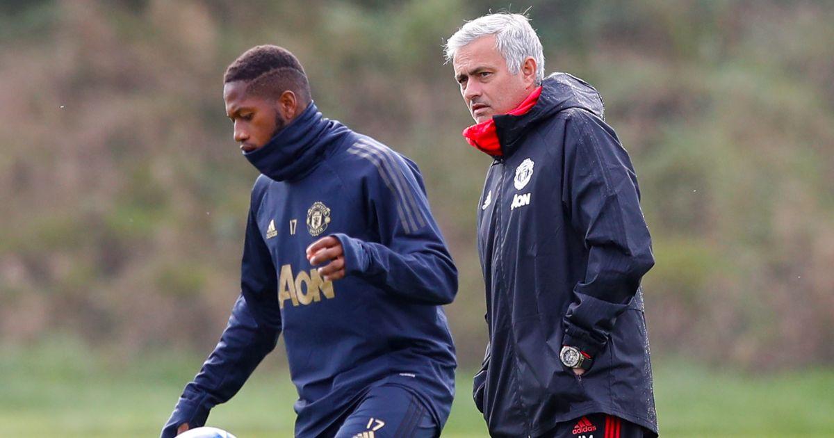 Fred Jose Mourinho Manchester United