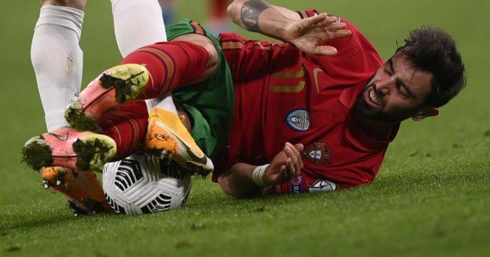 Bruno Fernandes Portugal Man Utd