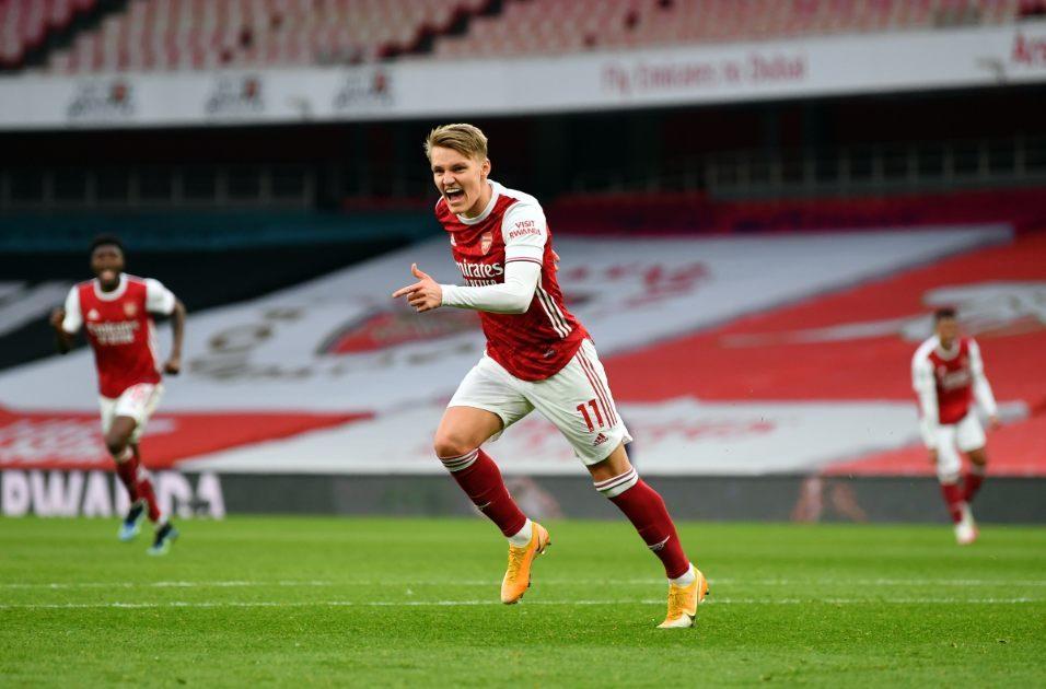 Odegaard Arsenal