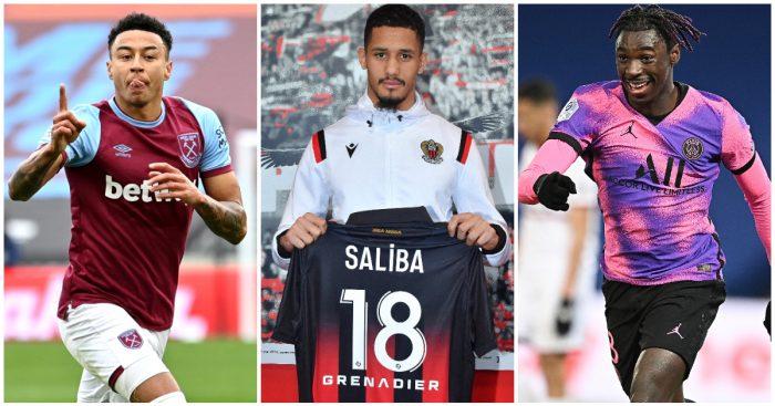Lingard Saliba Kean Premier League loanees