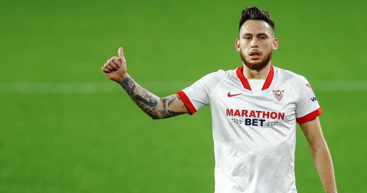 Leeds eye Sevilla star Ocampos; aim to reduce £62m asking price