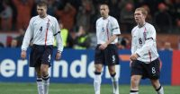 Paul Scholes Steven Gerrard Rio Ferdinand England