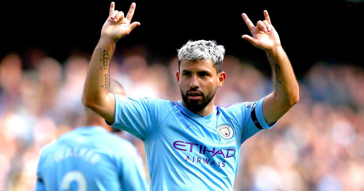 Sergio Aguero stats Man City