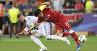 Sergio Ramos Mo Salah Liverpool Real Madrid
