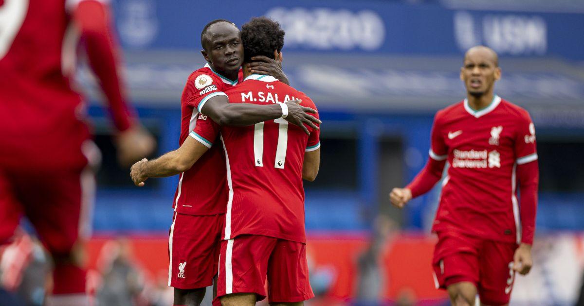 Sadio Mane Mo Salah Liverpool