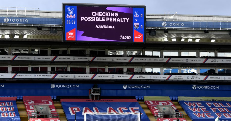 Crystal Palace VAR Premier League