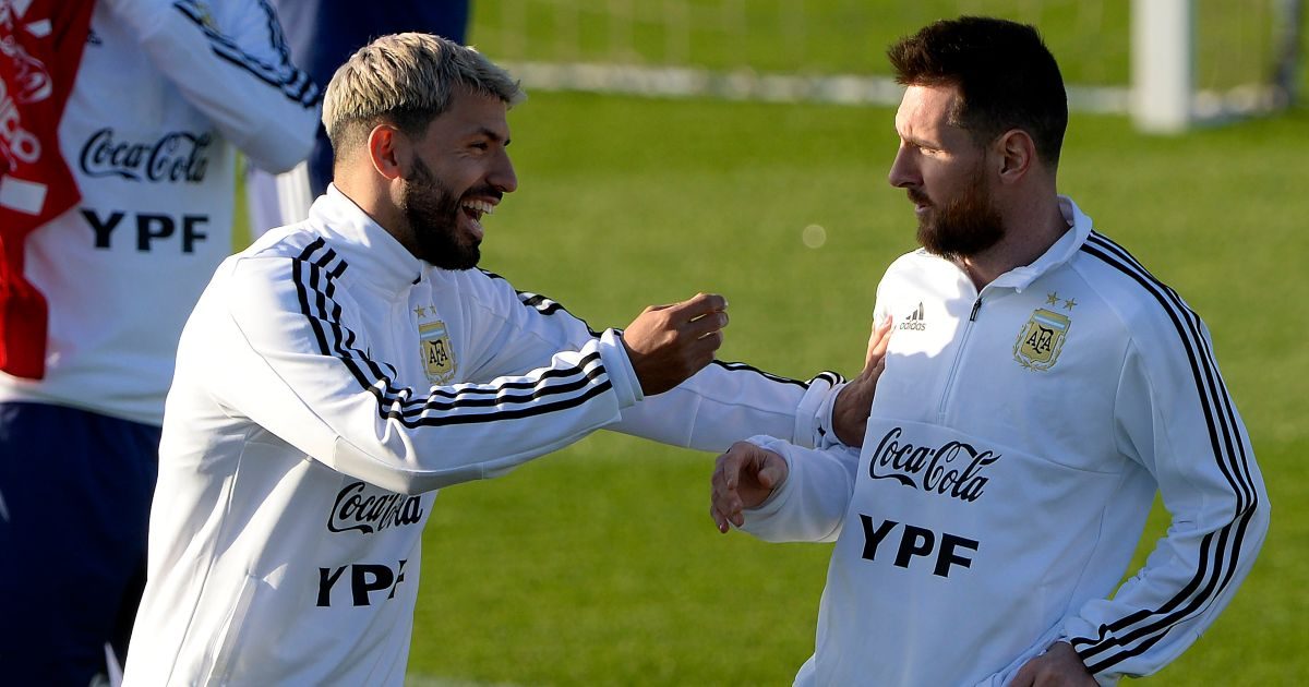 Messi vows to sign new deal if Barcelona sign City legend Aguero