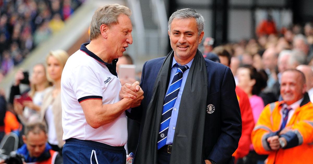 Warnock Mourinho