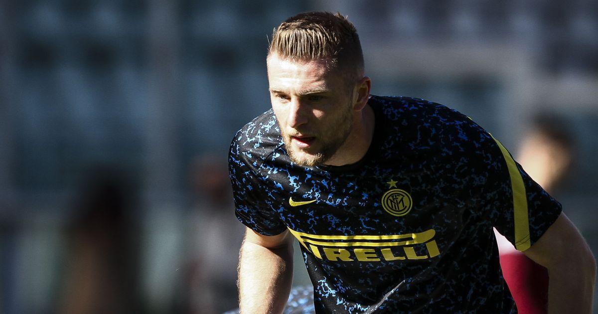Milan Skriniar Inter Milan Liverpool