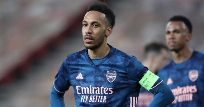 Pierre-Emerick Aubameyang Arsenal captain