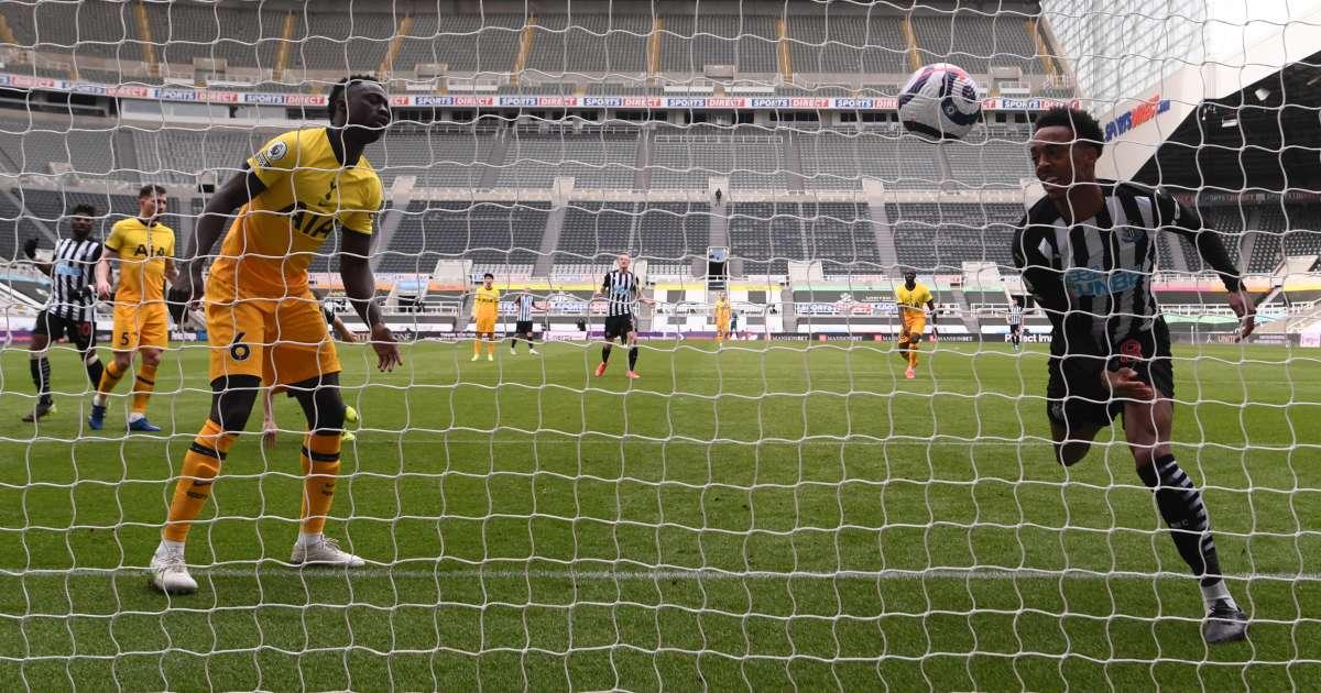 Joe Willock goal Newcastle Tottenham