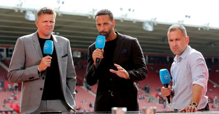 Rio Ferdinand BT Sport Man Utd