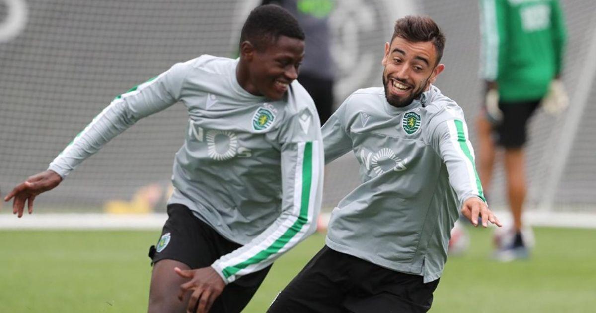 Nuno Mendes and Bruno Fernandes