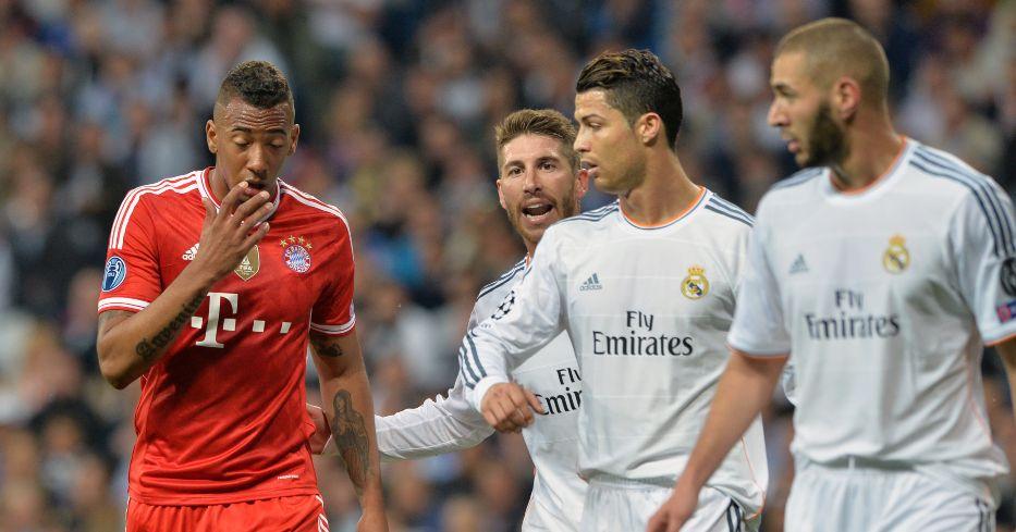 Jerome Boateng looks dejected