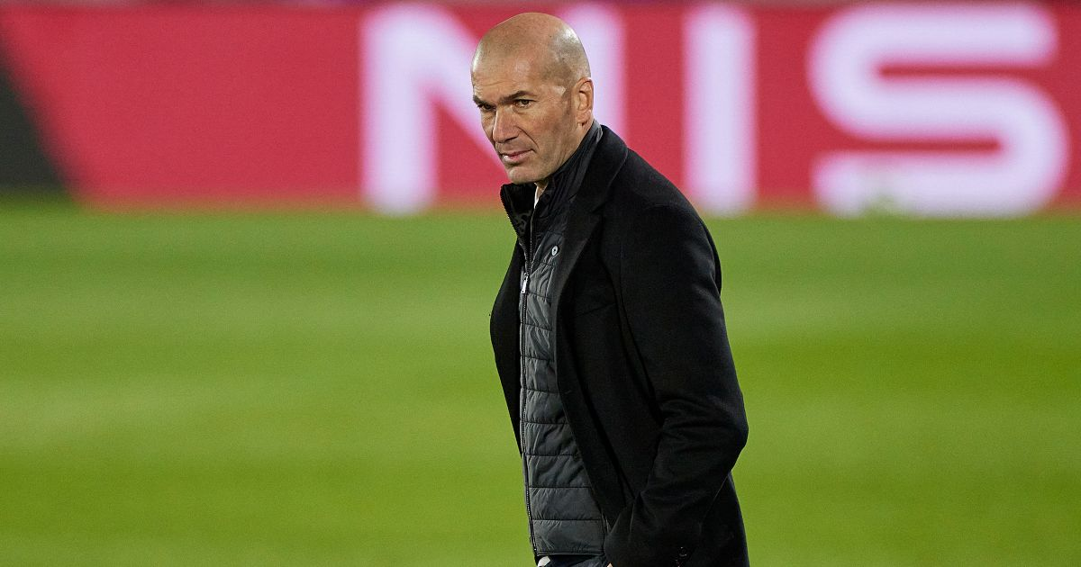 Zinedine Zidane Real Madrid Liverpool