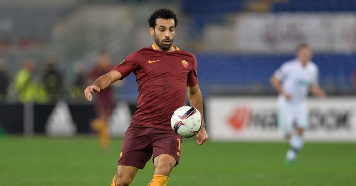 Mo Salah Roma Liverpool F365