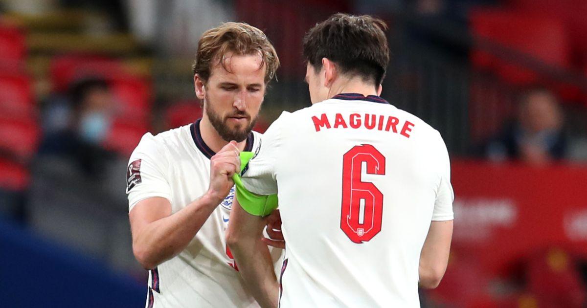 Harry Kane Harry Maguire England