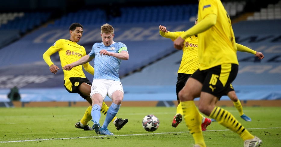 Man City Dortmund F365