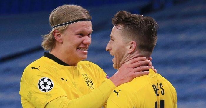 Erling Haaland Marco Reus Dortmund