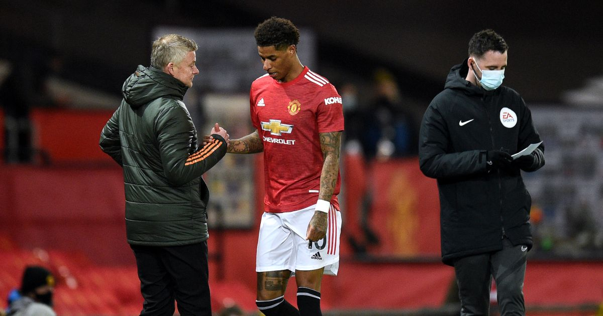 Solskjaer says Rashford is not a '90-minute man' for Man Utd thumbnail