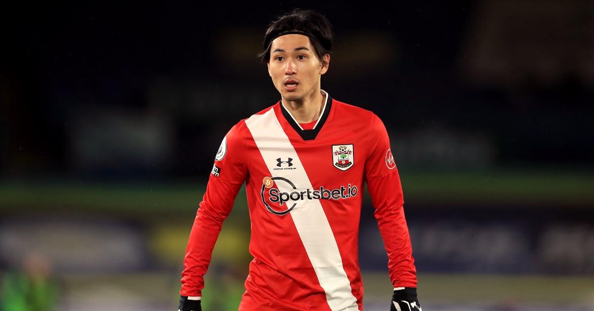 Takumi Minamino Southampton Liverpool F365