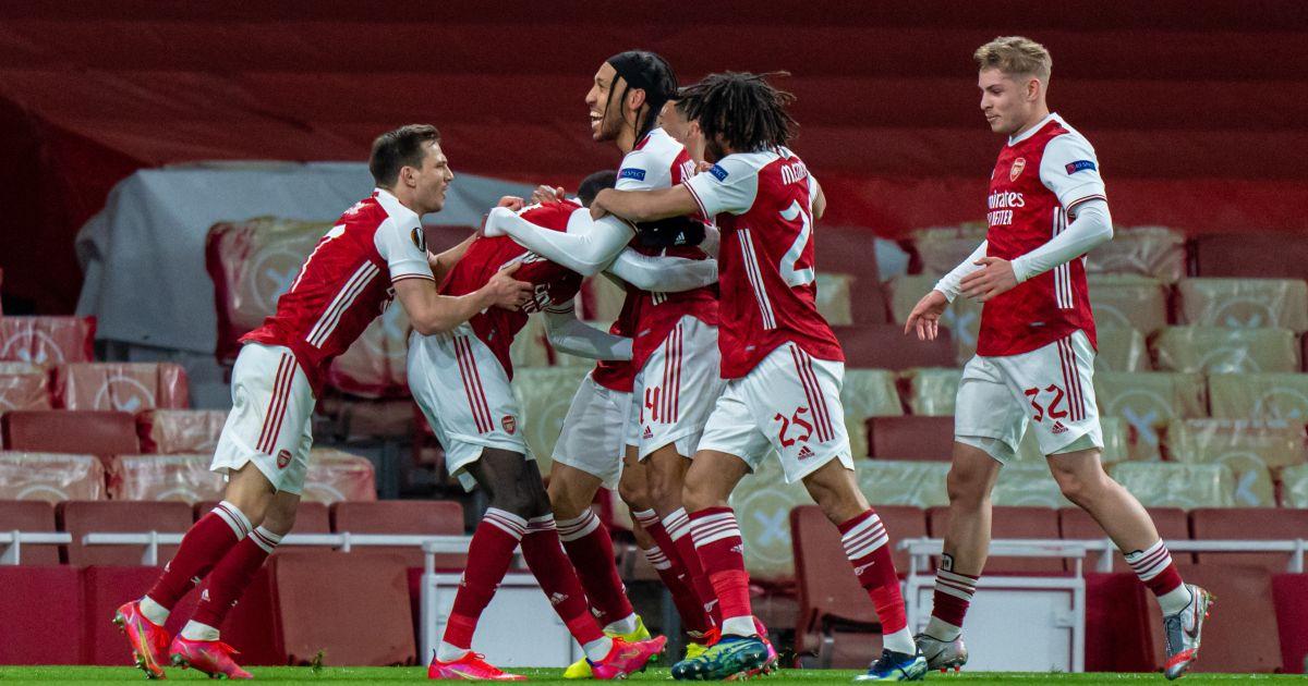 Arsenal players Slavia Prague