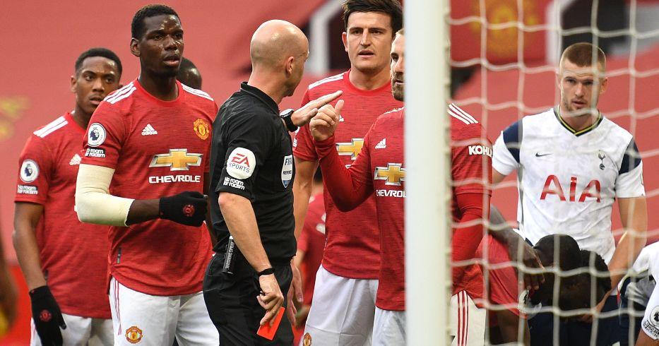 Anthony Martial Man Utd Tottenham