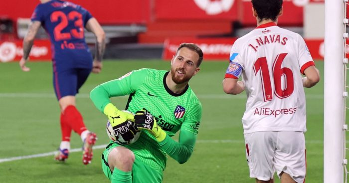 Jan Oblak Atletico Madrid Man Utd