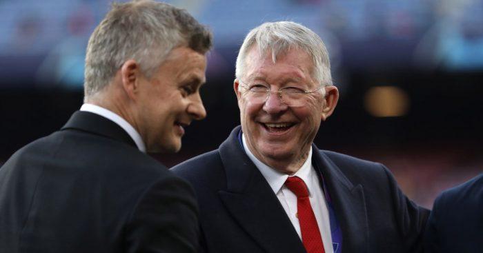 Sir Alex Ferguson Ole Gunnar Solskjaer Man Utd