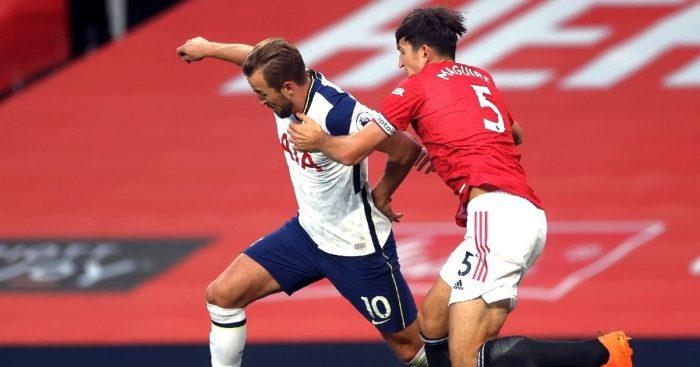 Harry Kane Tottenham Harry Maguire Man Utd