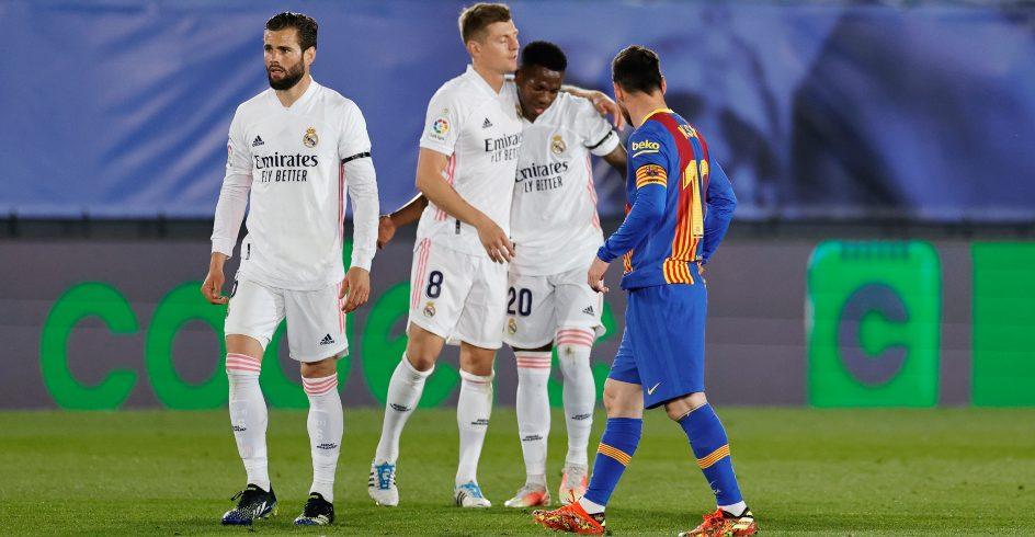 Toni Kroos Real Madrid v Barcelona El Clasico