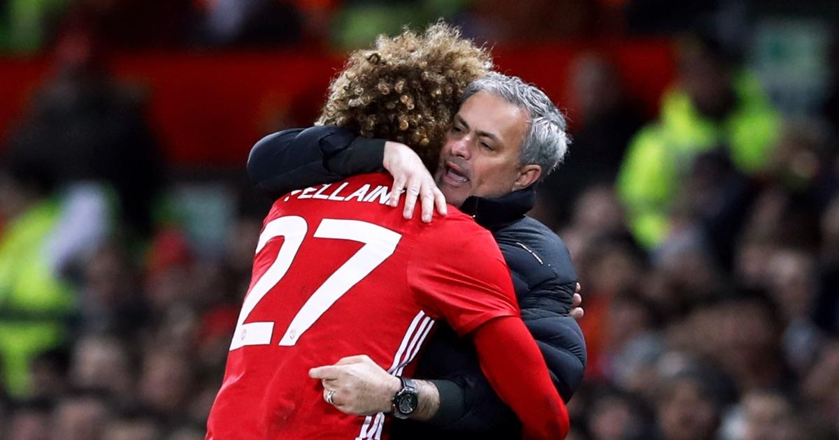 Mourinho Fellaini Man United