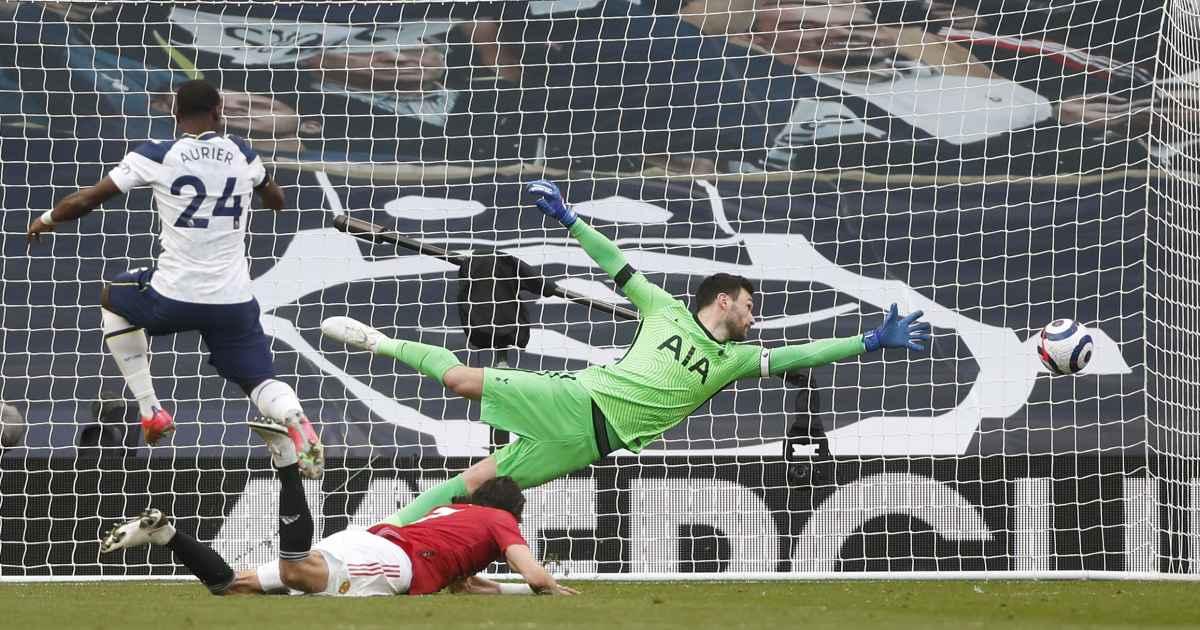 Edinson Cavani goal Manchester United Tottenham