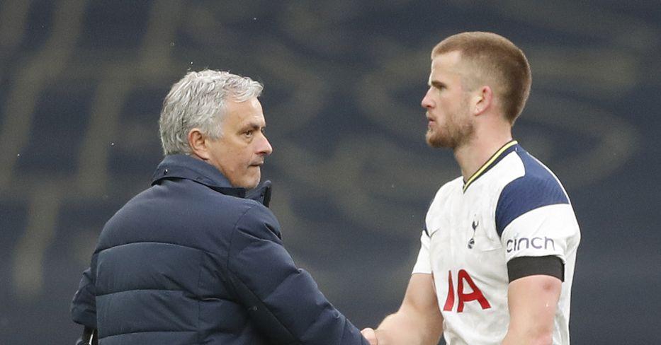 Jose Mourinho and Eric Dier