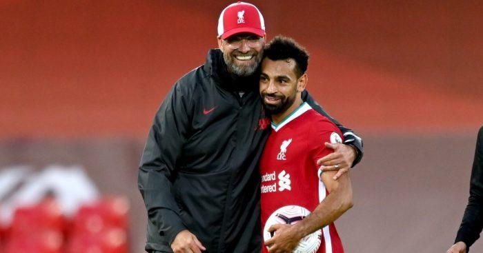 Jurgen Klopp Mo Salah Liverpool