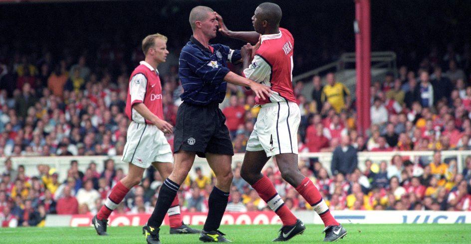 Arsenal Man Utd 1999/2000 Roy Keane Patrick Vieira